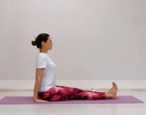 """Комплекс йоги """"вытяжение спины и ног"""""""