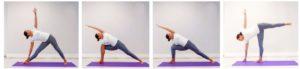 Комплекс йоги - позы стоя