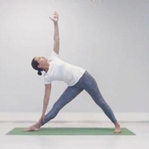 Комплекс йоги - скручивание