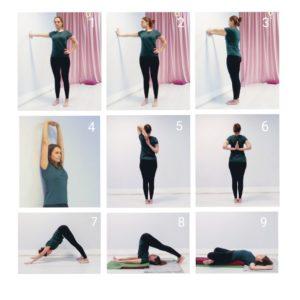 Комплекс йоги для рук и плеч