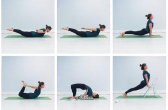Комплекс йоги - прогибы